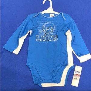 Detroit Lions onesie set